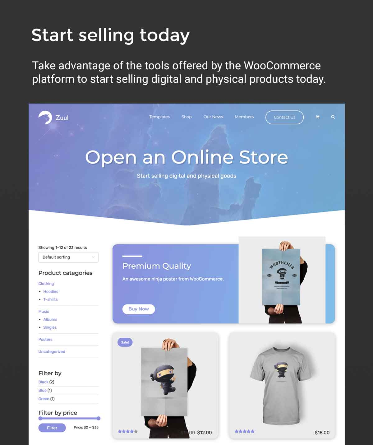 Zuul Pro WooCommerce Store